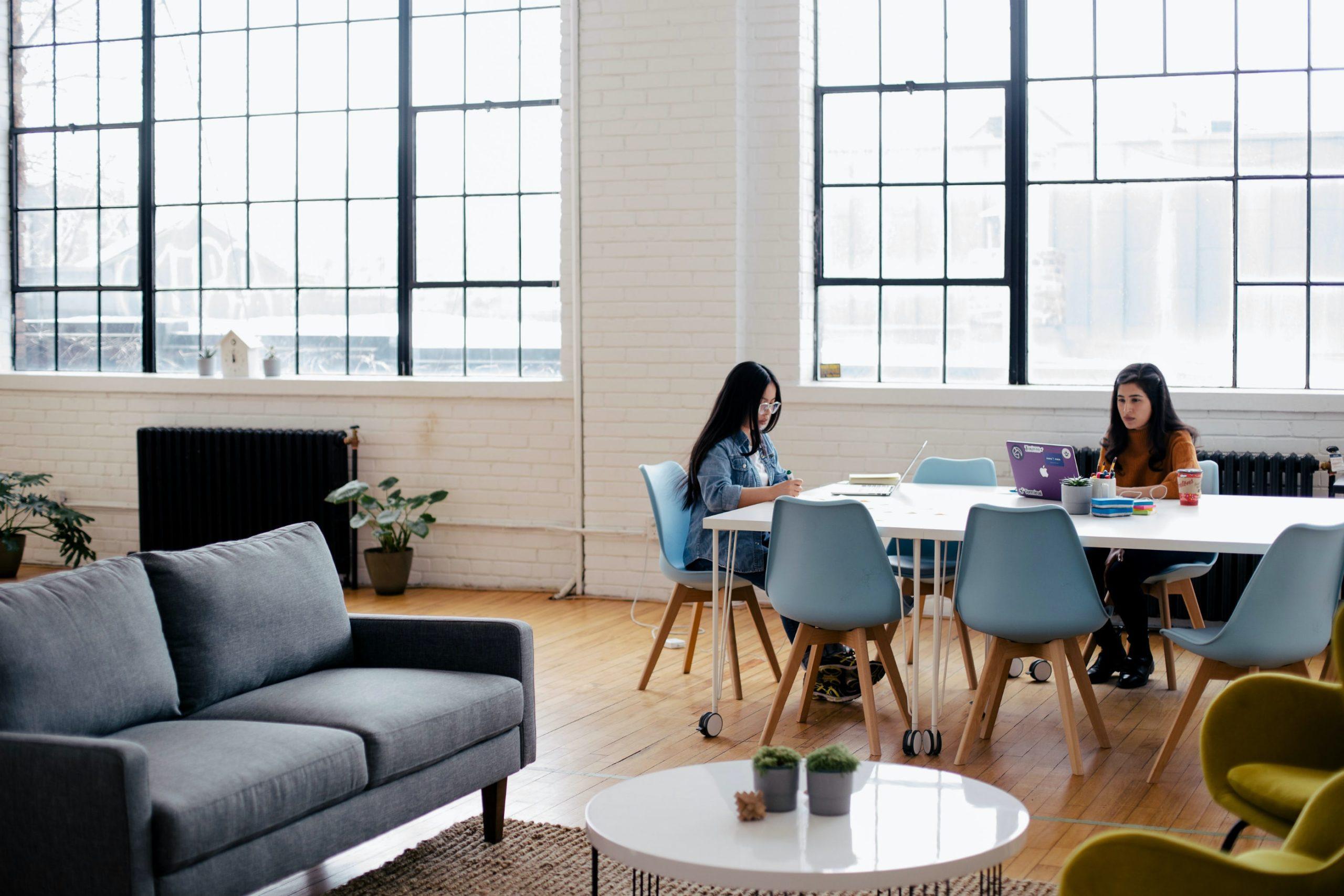 Frauen_arbeiten_großer_Tisch_Sofa
